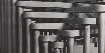 schlagheck-produktdesign-archiv-folkwang-werkkunstschule-metallklasse-formenspiel-gestapelte-schultische-design-1950