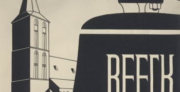 norbert-schlagheck-grafikdesign-folkwangschule-1951-plakat-glockenweihe-beeck-kipshoven